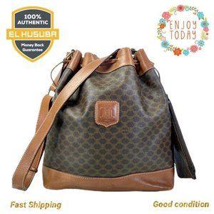 🌻💯Celine Shoulder Bag Macadam Pvc Buckle